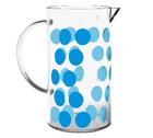 Verre de rechange pour cafetière Zak!designs DOT DOT bleue - 8 tasses