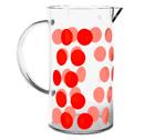 Verre de rechange pour cafetière Zak!designs DOT DOT rouge - 8 tasses