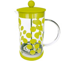 Cafetière à piston Zak!Designs DOT DOT vert citron 8 tasses
