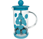 Cafetière à piston Zak!Designs DOT DOT bleue 3 tasses