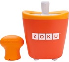 Sorbetière Zoku Pop Maker à esquimaux instantanée orange