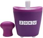 Sorbetière Zoku Pop Maker à esquimaux instantanée violet