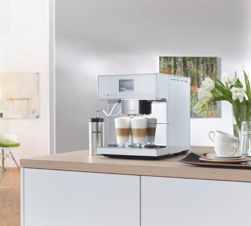miele cm 7500 blanche maxipack. Black Bedroom Furniture Sets. Home Design Ideas