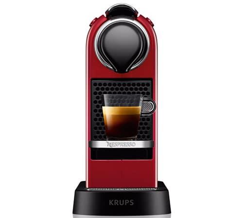 citiz rouge machine nespresso krups. Black Bedroom Furniture Sets. Home Design Ideas