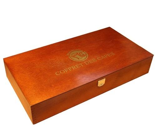 Coffret vide pour dosette e s e Creation bois objet pratique esthetique