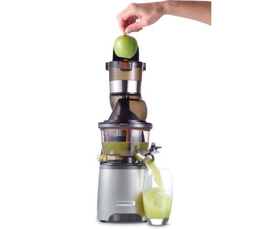 Kenwood Slow Juicer Jmp800si Pure Juice Pro : Extracteur de Jus Kenwood Pure Juice JMP800SI Pro Gris ...