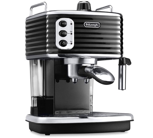 Machine expresso scultura black ecz 351 bk delonghi - Marque machine expresso ...