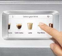 Ecran Machine Expresso Sage Oracle Touch