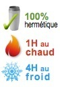mug isotherme hermetique 1H chaud 4H froid