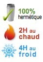 mug isotherme hermetique 2H chaud 4H froid