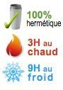 mug isotherme hermetique 3H chaud 9H froid