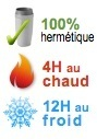 mug isotherme hermetique 4H chaud 12H froid