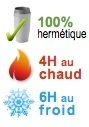 mug isotherme hermetique 4H chaud 6H froid