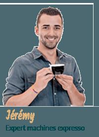 Jeremy Expert machine a café espresso
