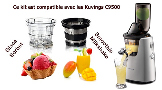 kit smoothie glace pour kuvings c9500