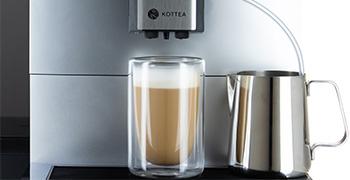 Latte macchiatto machine a café grain Kottea CK500S