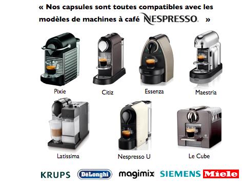 Fabuleux Capsul'in X 100 - Capsule compatible Nespresso OR88