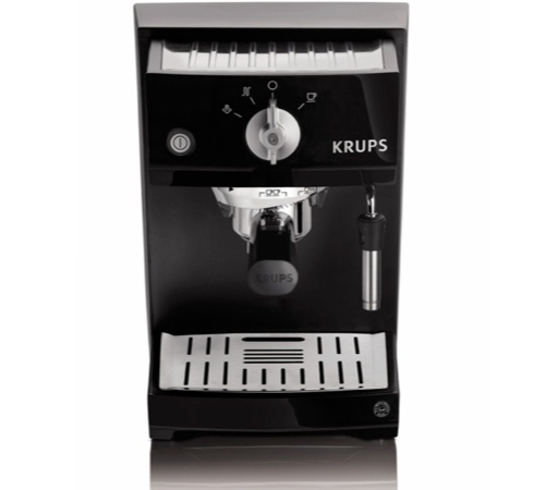 machine espresso noire laque krups yy8208fd. Black Bedroom Furniture Sets. Home Design Ideas