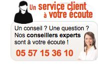 Un service client � votre �coute