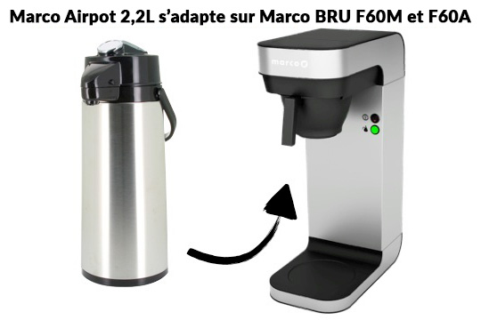 marco airpot compatible marco bru f60m