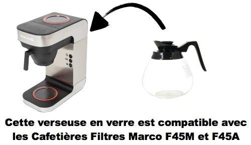verseuse de remplacement pour marco f45a et f45m