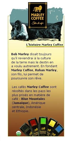 Marley Coffee : Café gourmet