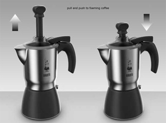 Cafeti re italienne bialetti moka crem 3 tasses - Comment fonctionne cafetiere italienne ...