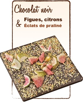 tablette chocolat figues citron monbana