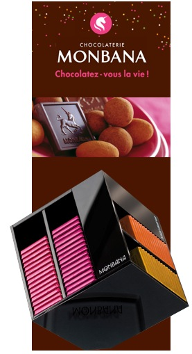 coffret chocolat monbana