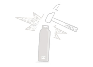 Bouteille isotherme monbento durable