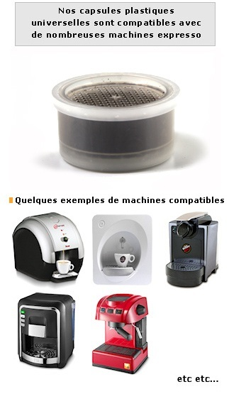 Machine A Cafe Lavazza Capsule Plastique