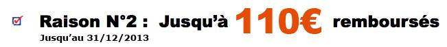 Melitta : Jusqu'à 110 euros remboursés