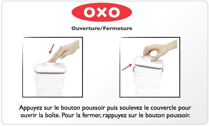 Marvelous Boite Conservatrice Oxo Boite Conservatrice Sans BPA Oxo