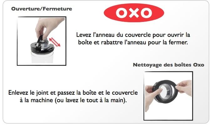 boite conservatrice oxo-boite conservatrice sans BPA-oxo