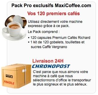 pack pro cafés richard