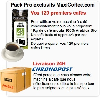 pack pro entreprise café filtre