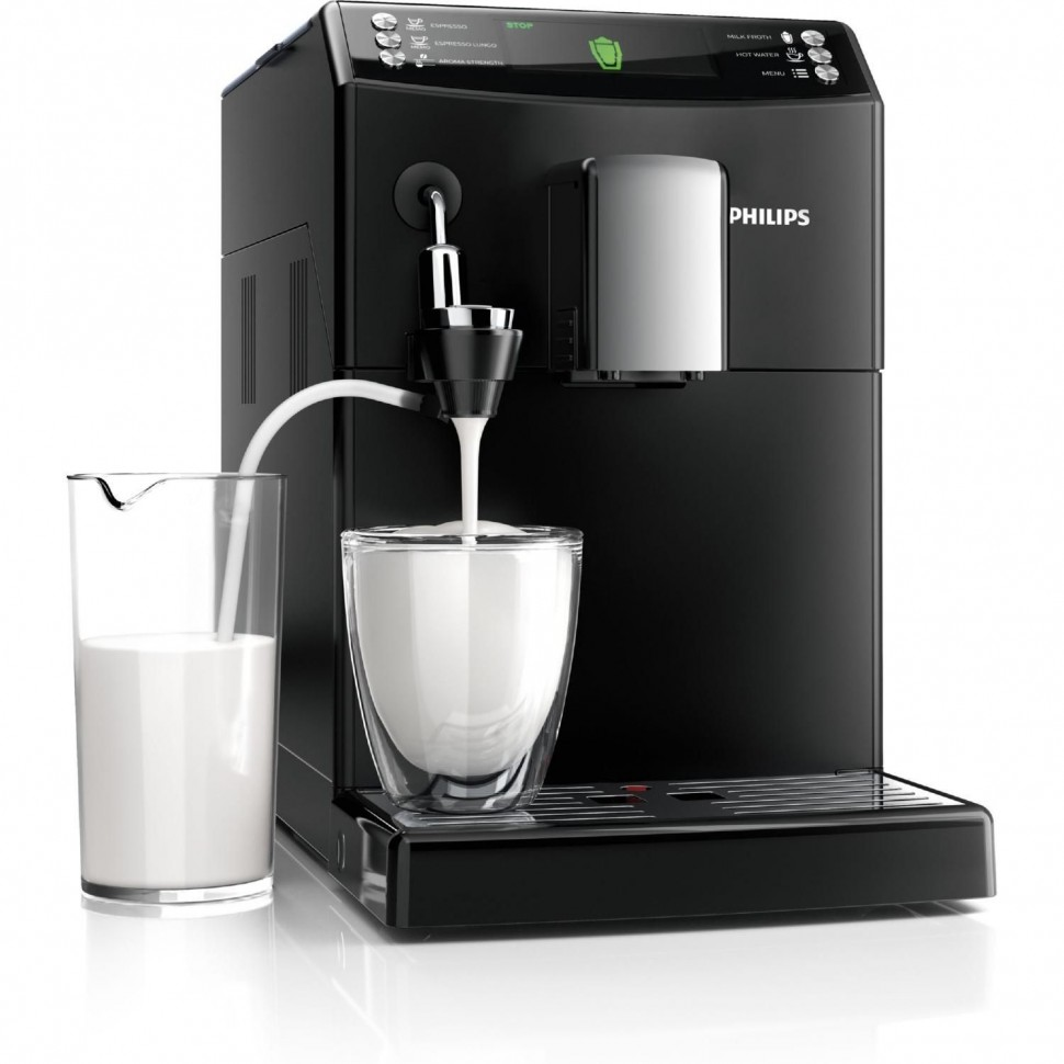 machine caf automatique philips serie 3100 noire latte art. Black Bedroom Furniture Sets. Home Design Ideas