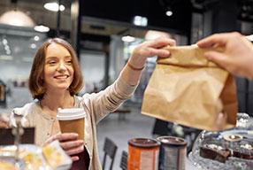 solution café pour boulangerie et restauration rapide
