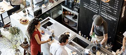 solution café pour bar et coffee shop