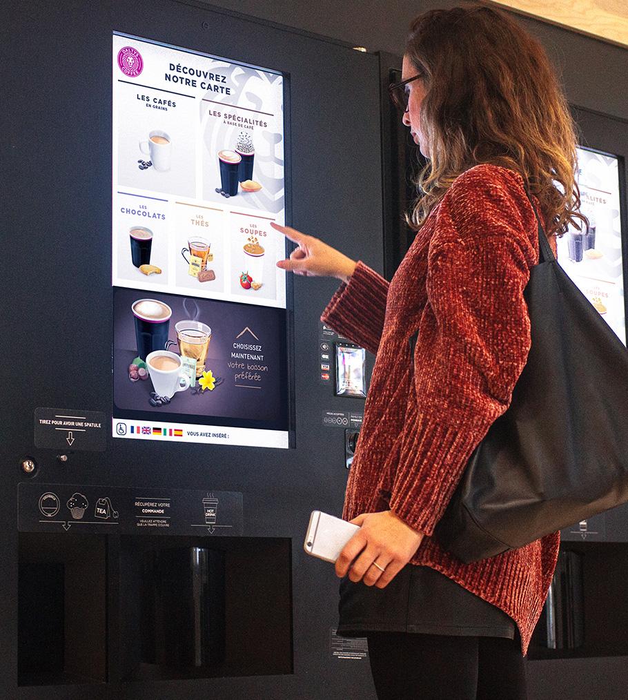 distributeur automatique café BARISTA DIGITAL