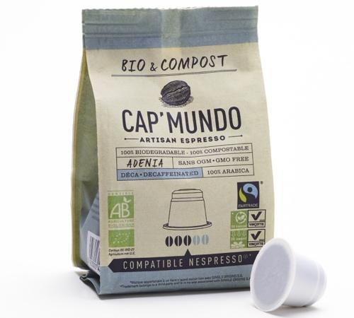 Compost Capsule Caf Ef Bf Bd Malongo