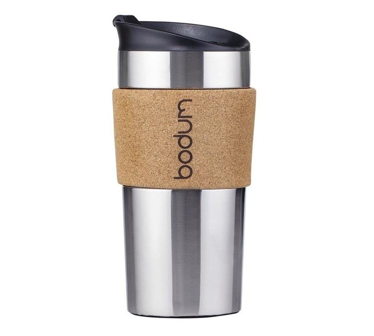 Mug With Bodum Cork 350ml Travel Surround N8mwnv0