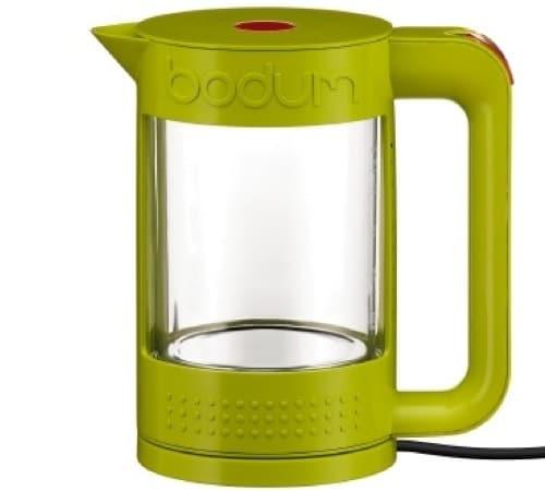 Bouilloire lectrique bodum bistro transparente 11445 565 vert citron - Bouilloire electrique 1 litre ...