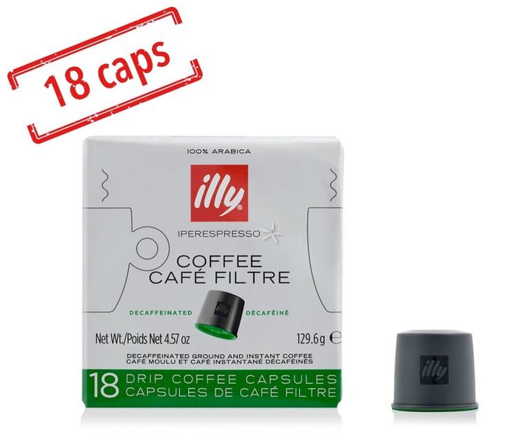 capsules filtre pack torr faction d caf in x 18. Black Bedroom Furniture Sets. Home Design Ideas