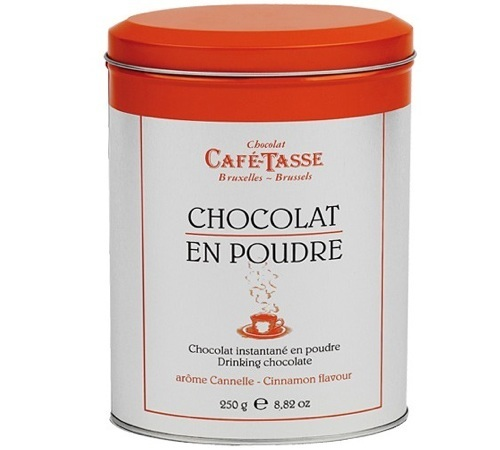 bo te de chocolat en poudre instantan la cannelle caf tasse 250g. Black Bedroom Furniture Sets. Home Design Ideas
