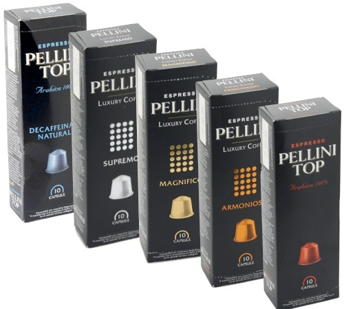 offre d couverte capsules pellini x50 pour nespresso. Black Bedroom Furniture Sets. Home Design Ideas
