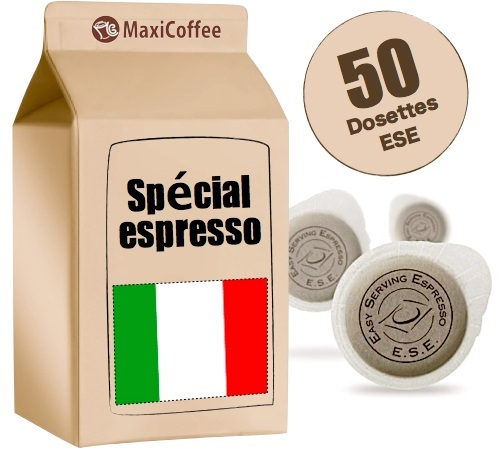 dosette expresso pour espresso italien. Black Bedroom Furniture Sets. Home Design Ideas