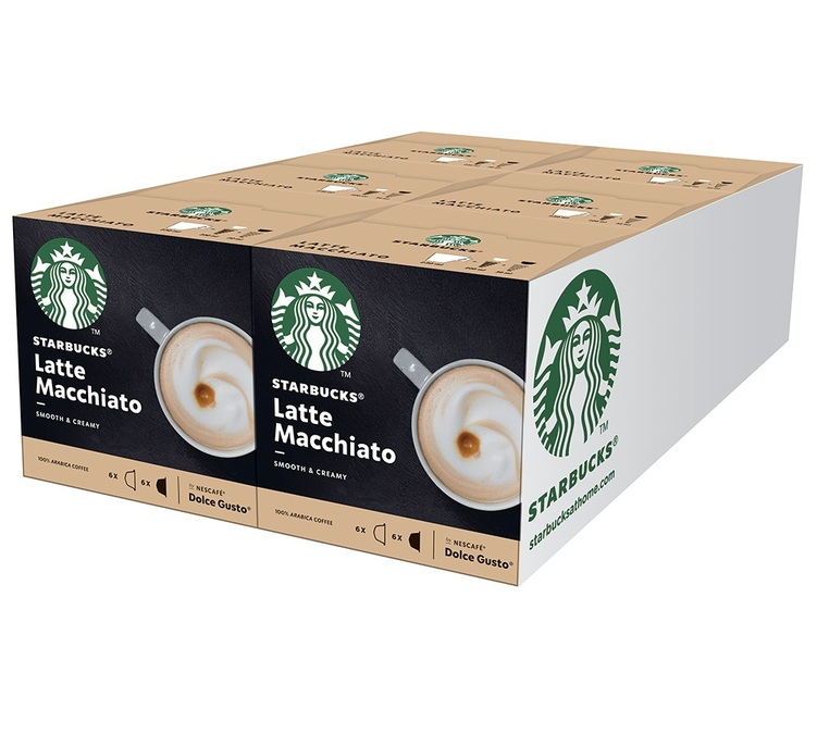 72 capsules Latte Macchiato compatibles Nespresso® - Starbucks