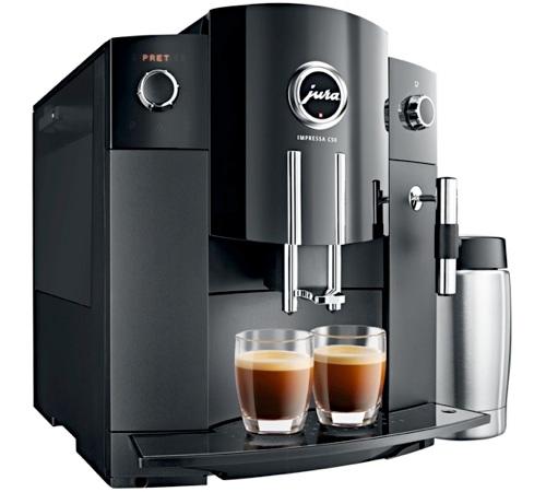 Jura impressa c50 for Gunstige kaffeemaschine
