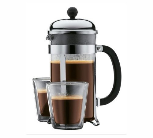 Cafeti re piston bodum 1 l chambord 8 tasses cadeau - Cafetiere a piston avis ...